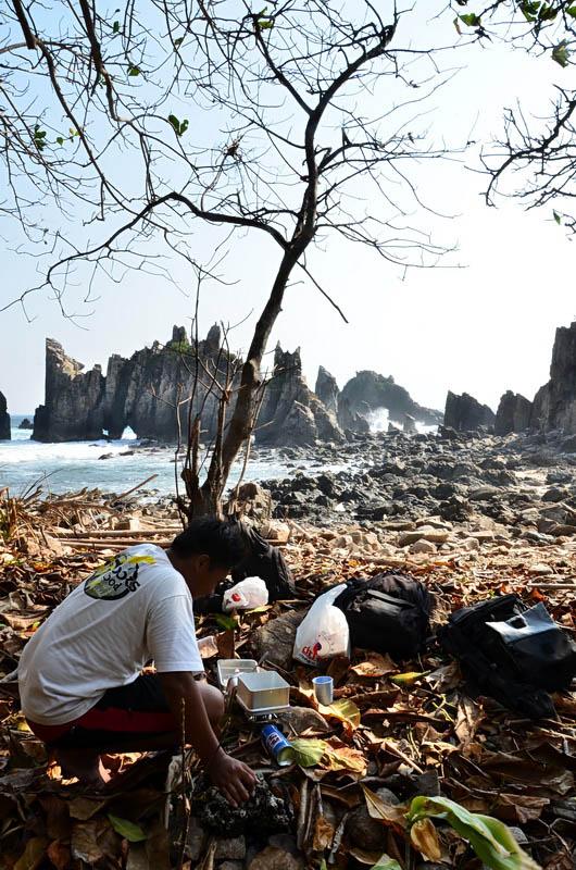 4 - Pantai Gigi Hiu Lampung - Pegadungan - Wisata Lampung - Yopie Pangkey