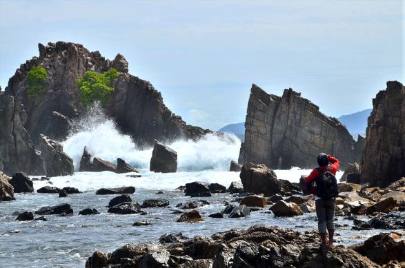 6 - Pantai Gigi Hiu Lampung - Pegadungan - Wisata Lampung - Yopie Pangkey