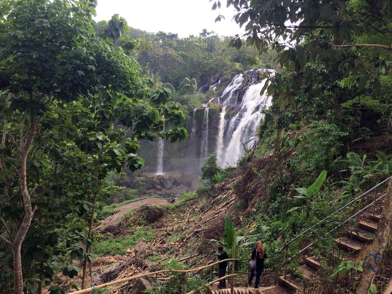 Curup Gangsa - tempat wisata air terjun - keliling lampung - kamera iphone 5s