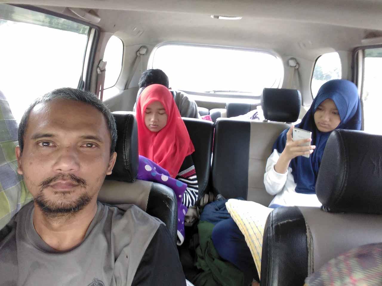 Keliling Lampung bersama keluarga