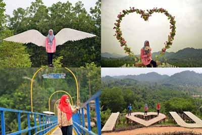 Wisata Bukit Pangonan - tempat wisata di pringsewu @