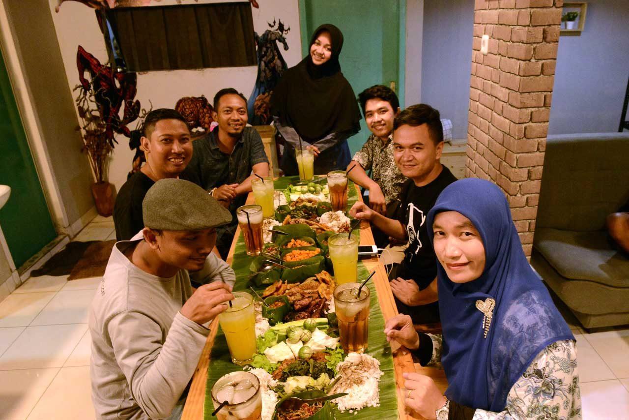 bancakan lampung - papatoms cafe - wisata kuliner bandar lampung - 14