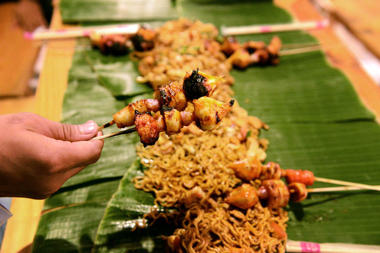 bancakan lampung - papatoms cafe - wisata kuliner bandar lampung - 15