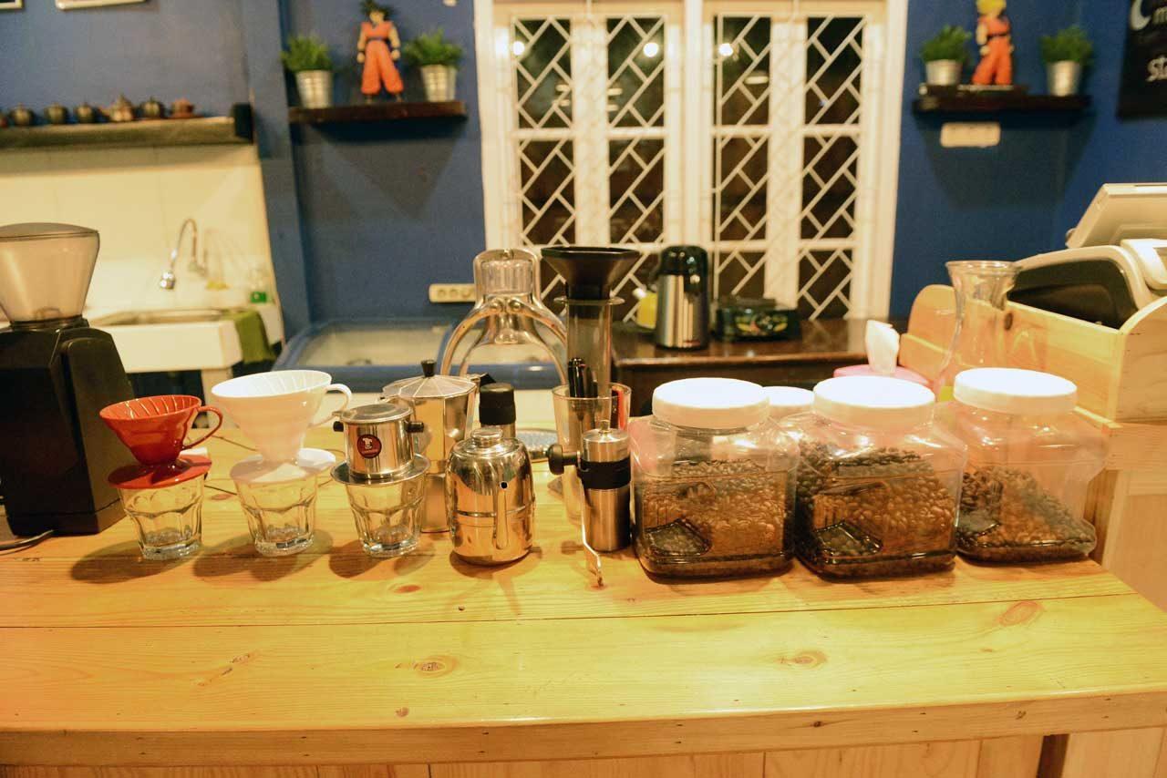 kopi - papatoms cafe - wisata kuliner bandar lampung - 1