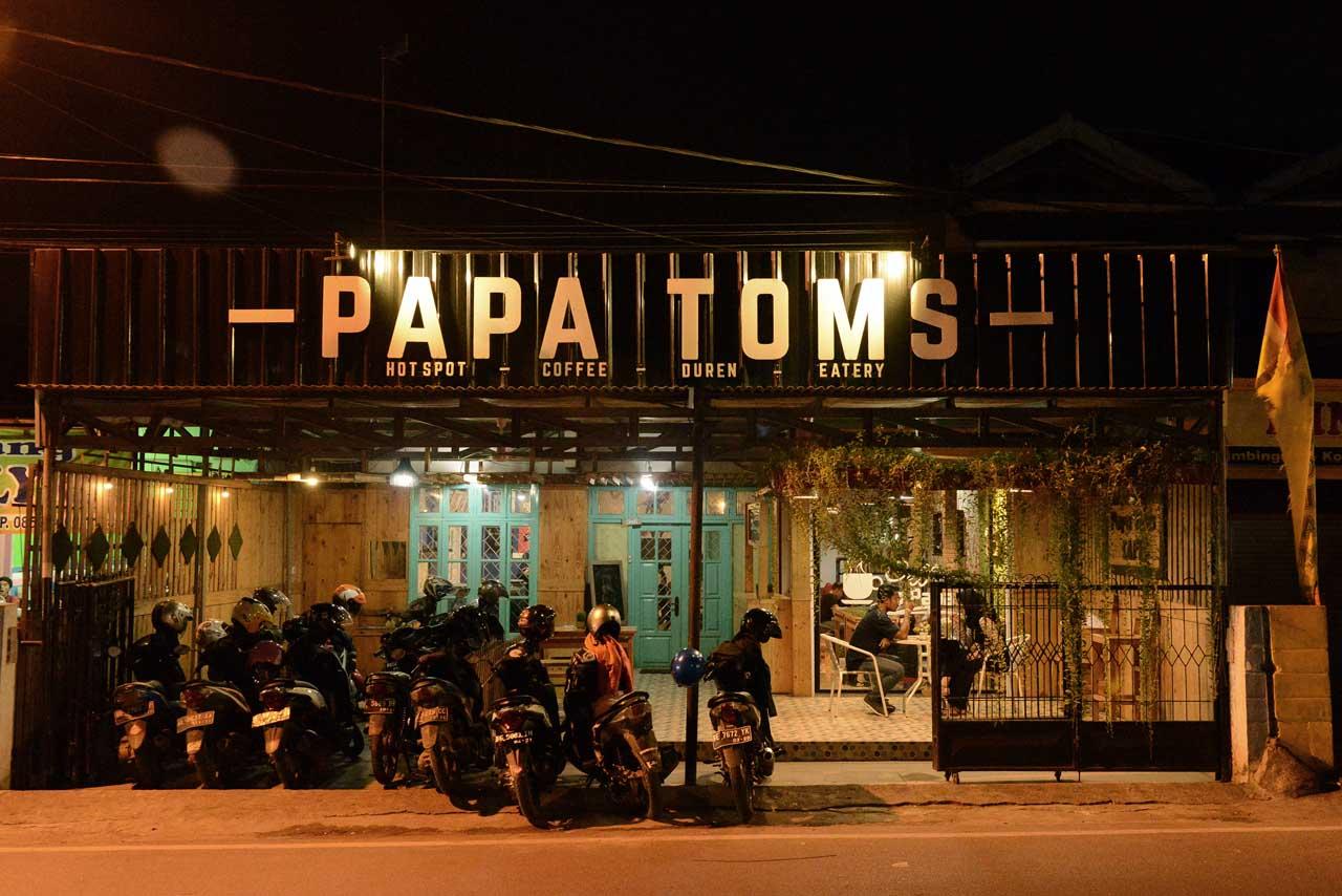 papatoms cafe - wisata kuliner bandar lampung - 5