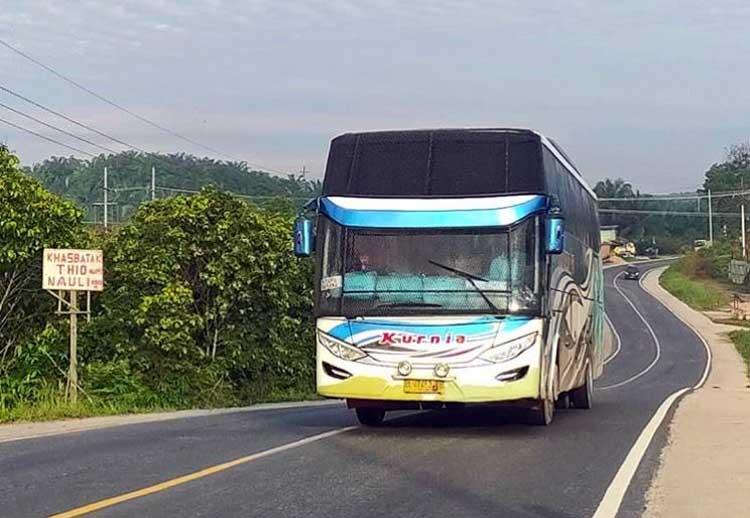 Bus Medan Banda Aceh - @aldy_syaputra1401