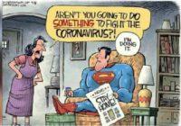 Bertahan Hidup - Meme Lucu Superhero Superman Stay Home Covid-19 Corona Virus - LawanCorona