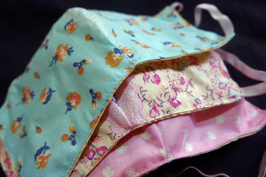 cara membuat masker kain tali - jenis kain untuk masker penutup hidung dan mulut - @imkobal