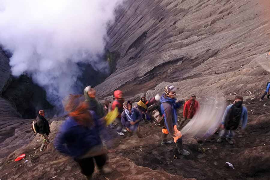Contoh Foto Kamera Point and Shoot - Kawah Bromo - yopiefranz.id - yopie pangkey