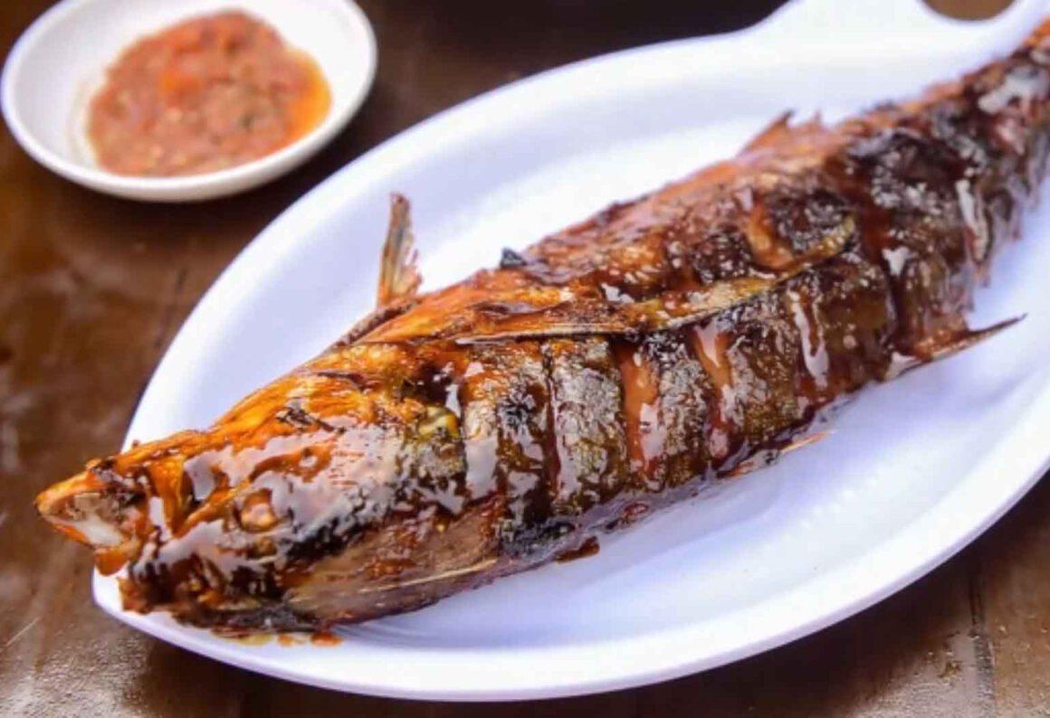 Foto Gambar Ikan Bekre bakar - @pindangkepalasimba