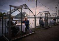 konsep Serres Séparées - rumah kaca yang terpisah - rumah makan resto new normal - Anne Lakeman and Willem Velthoven 1