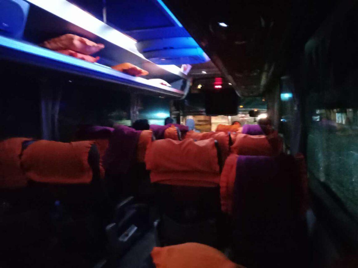 review naik bus harapan jaya solo bogor di redbus - yopiefranz.id - yopie pangkey