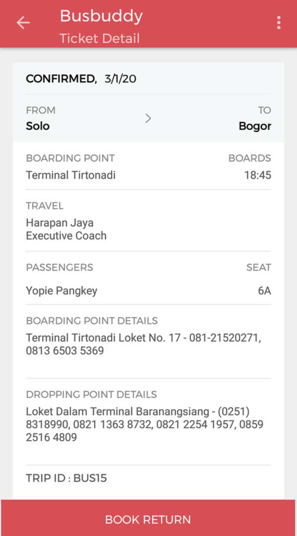 tiket bus solo bogor - yopiefrand.id - yopie pangkey