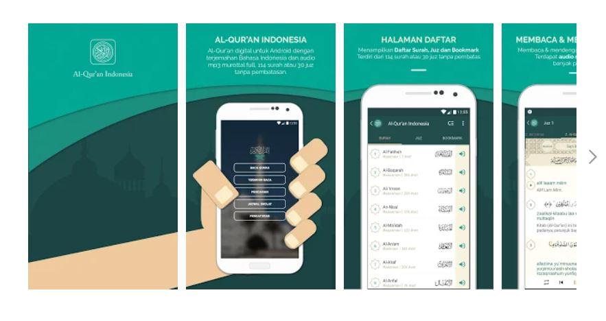 Al Quran Indonesia - aplikasi alquran offline terbaik